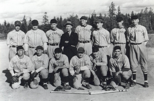 The St Croixs team of St Stephen, New Brunswick in 1939