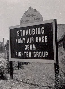 368th Fighter Group in Straubing