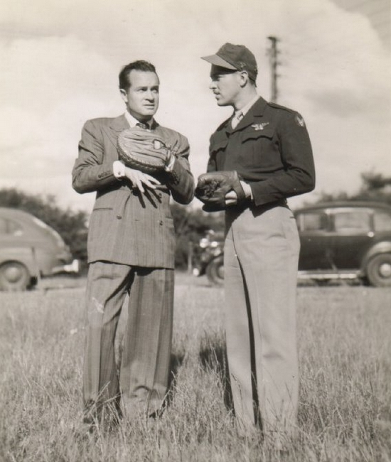 Billy Southworth, Jr., and Bob Hope