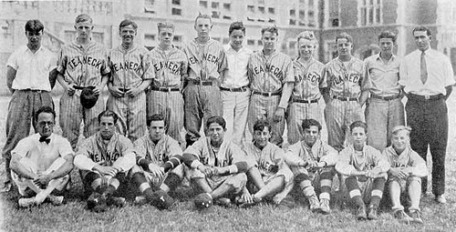 1930 Teaneck High School baseball